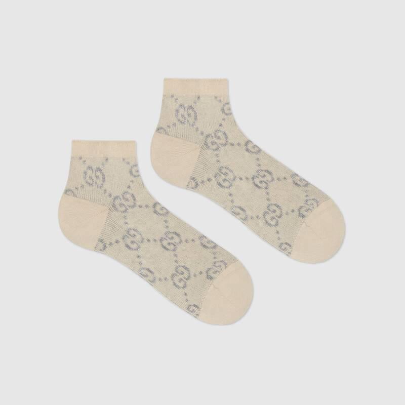 GG lamé socks (6314513GF799263)