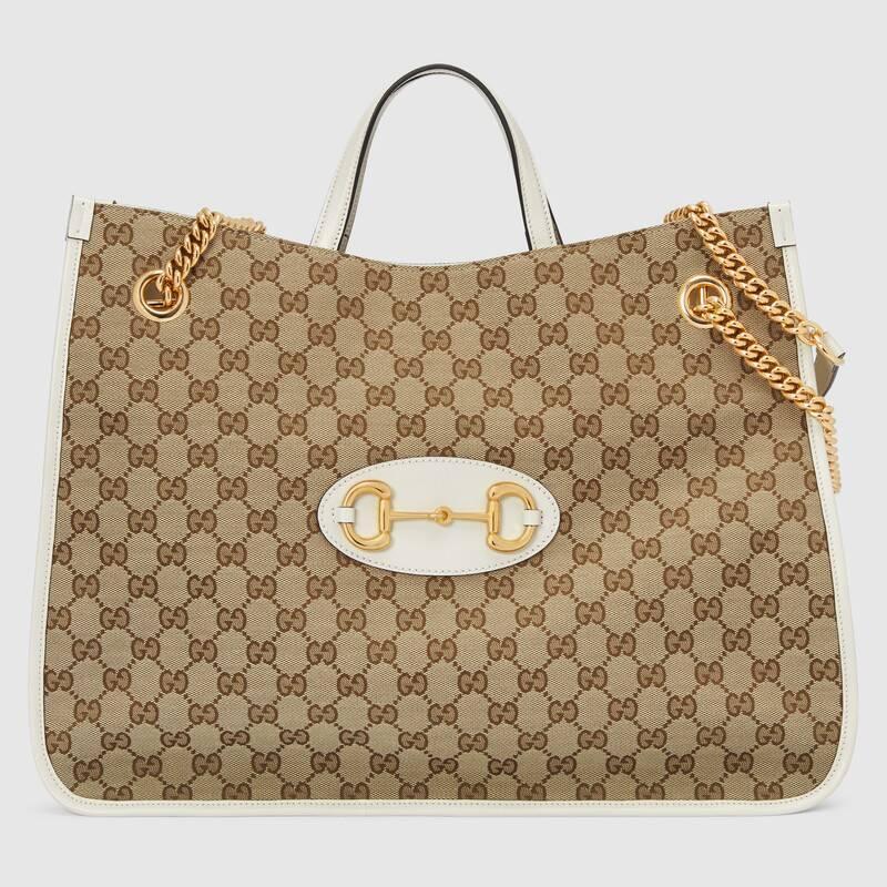 Gucci 1955 Horsebit large tote bag (623695GY5OG9761)
