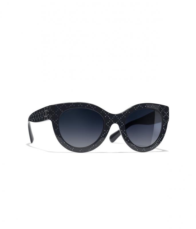 Butterfly Sunglasses Dark Blue eyewear (A71351X08904S264351TOCCI)