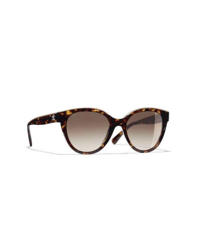 Butterfly Sunglasses Dark Tortoise & Beige eyewear (A71339X02016S821954QOCCI)