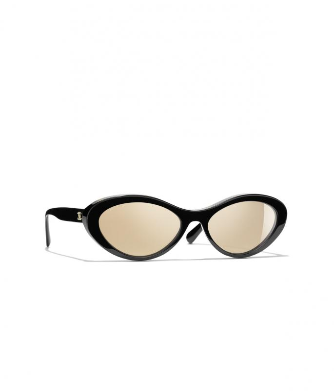 Oval Sunglasses Black eyewear (A71341X02131S222657NOCCI)