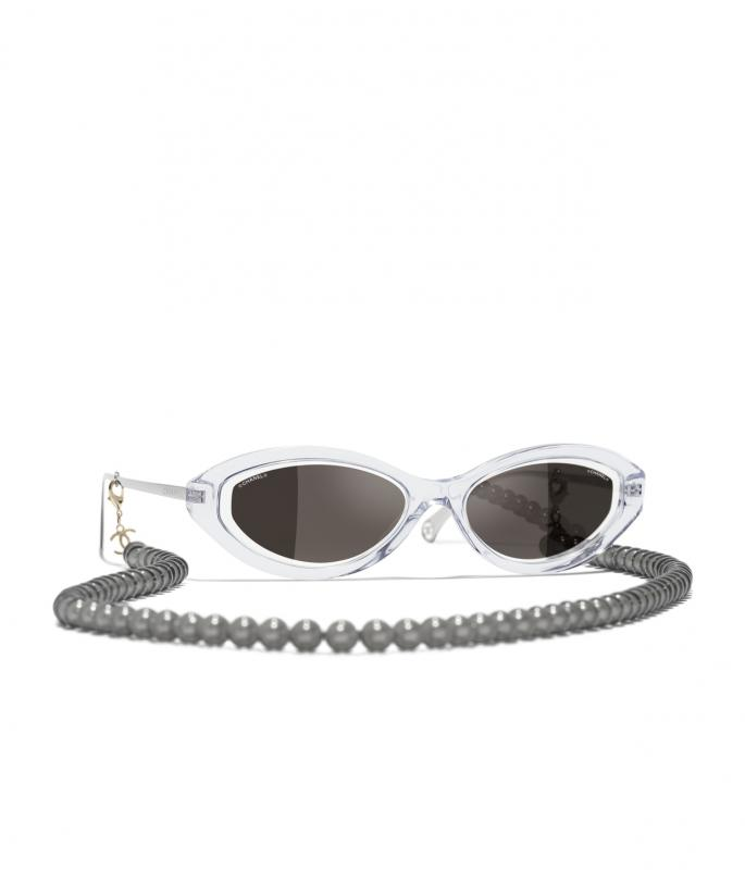 Oval Sunglasses Transparent eyewear (A71356X06086S605756MOCCI)