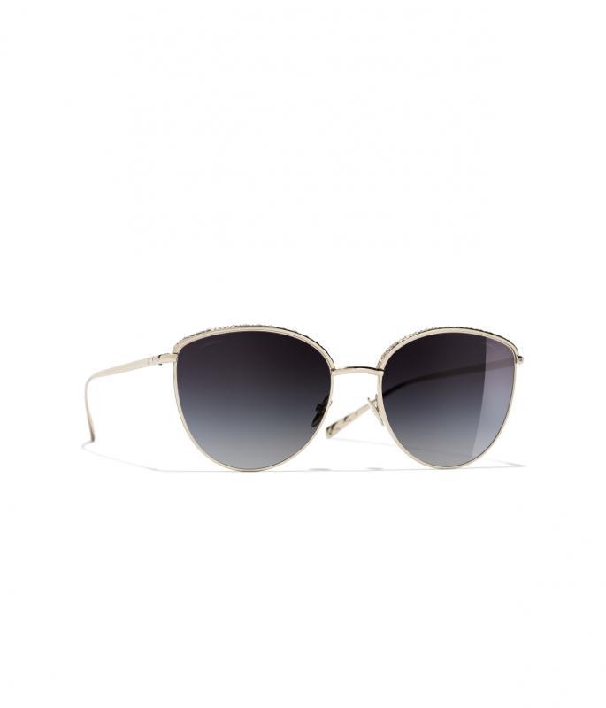 Pantos Sunglasses Gold eyewear (A71355X02570L951655OUNI)