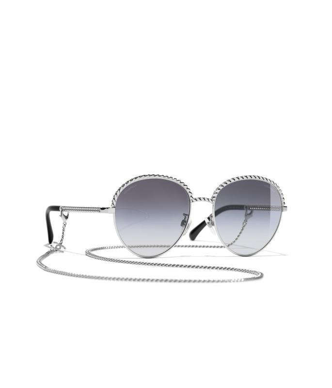 Pantos Sunglasses Silver eyewear (A71289X01060L241655NUNI)