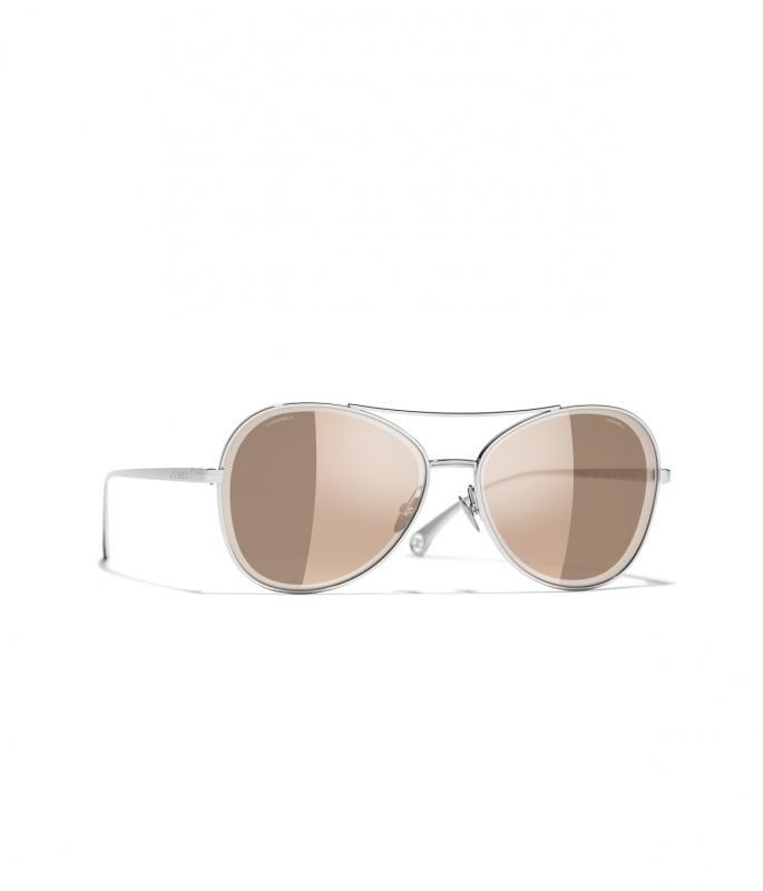 Pilot Sunglasses Silver eyewear (A71363X01060L245859LUNI)