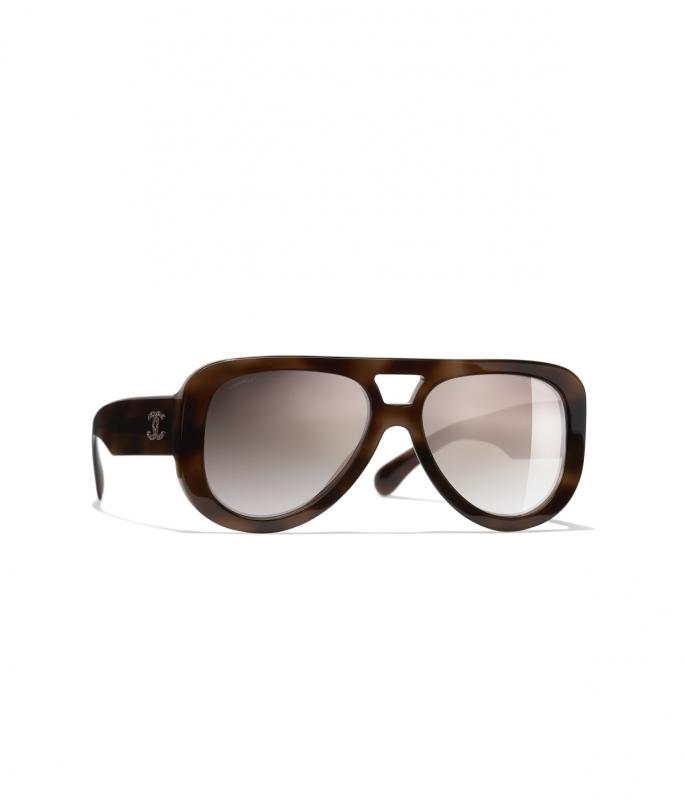 Pilot Sunglasses Tortoise eyewear (A71354X02569S661255MOCCI)