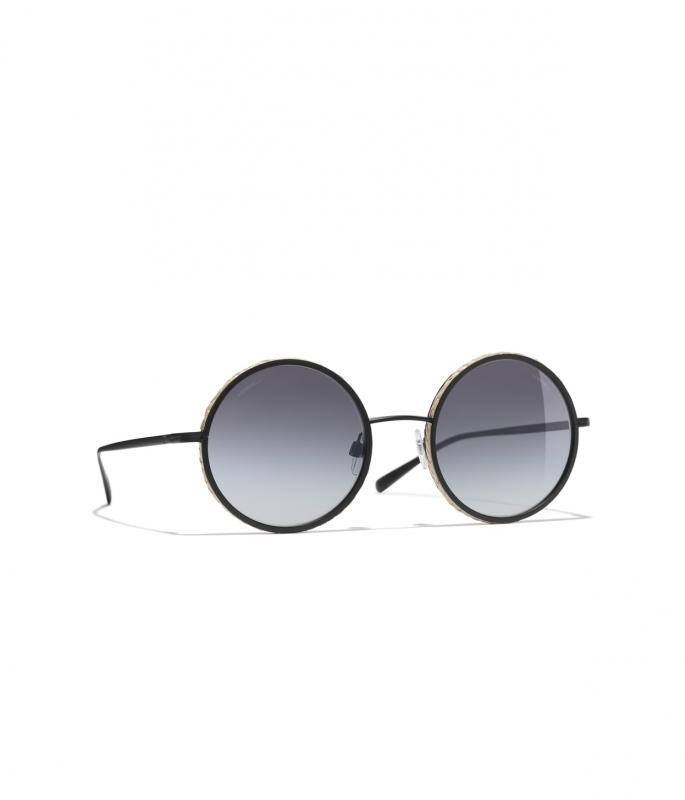 Round Sunglasses Black eyewear (A71302X02546L011652SUNI)