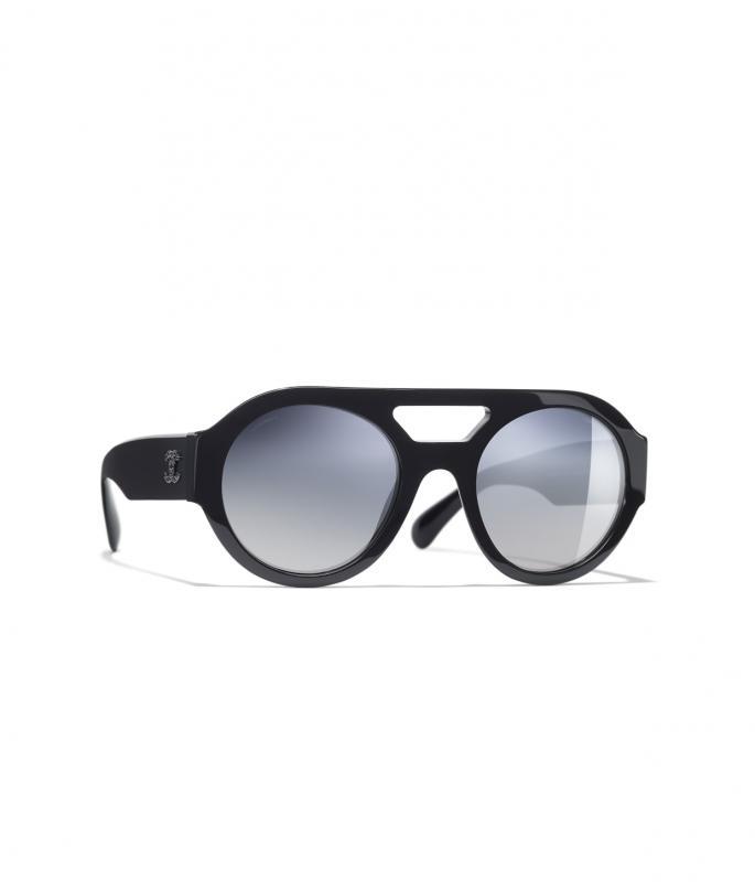 Round Sunglasses Dark Blue eyewear (A71350X02569S264653SOCCI)