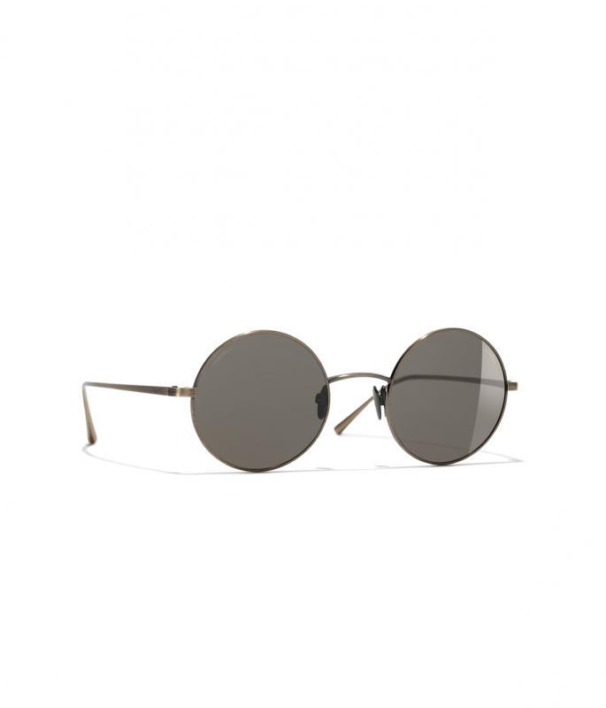 Round Sunglasses Gold eyewear (A71344X09950L333347RUNI)