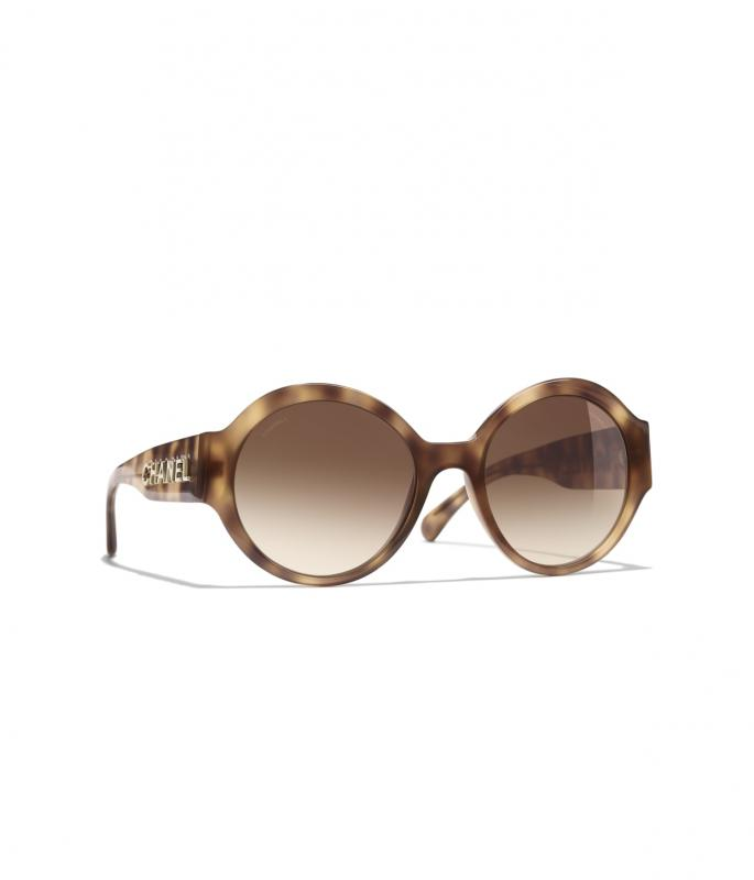 Round Sunglasses Light Tortoise eyewear (A71306X08101S166054ROCCI)