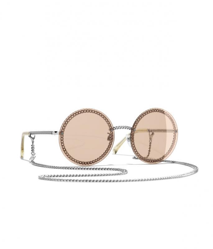 Round Sunglasses Silver eyewear (A71292X01060L247358OUNI)
