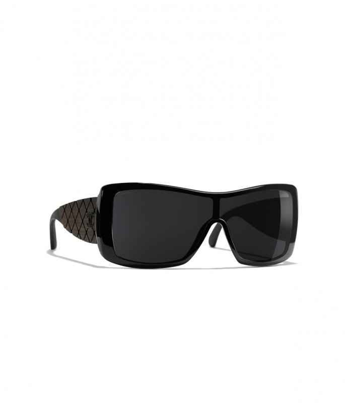 Shield Sunglasses Black eyewear (A71337X06091S011400POCCI)