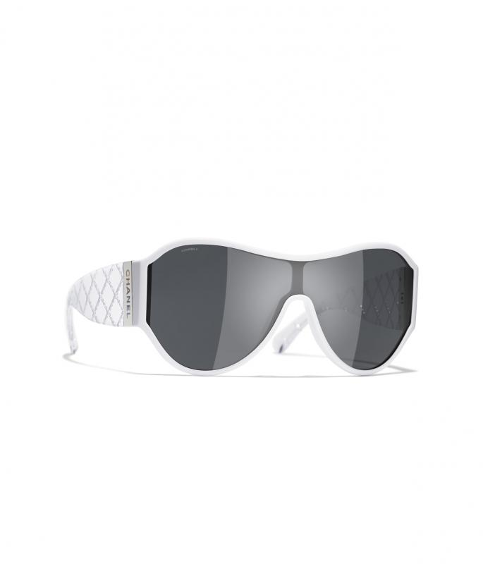 Shield Sunglasses White eyewear (A71358X08101S371440ZUNI)
