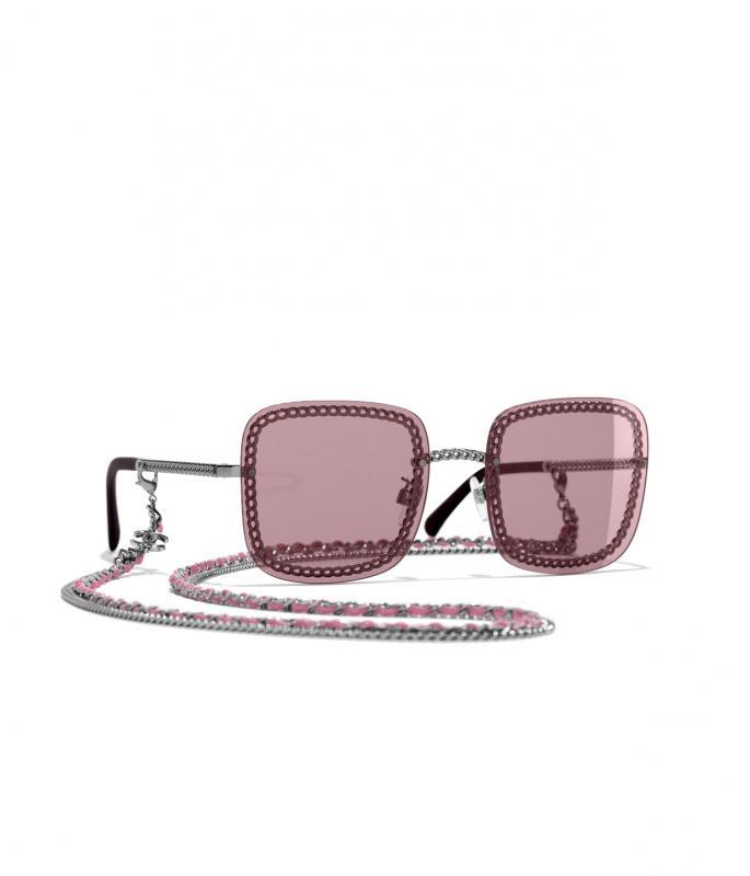 Square Sunglasses Dark Silver eyewear (A71291X06073L084857OUNI)