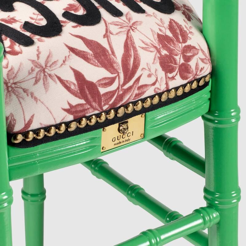 Chiavari chair with embroidered tiger (482816ZAW343083)