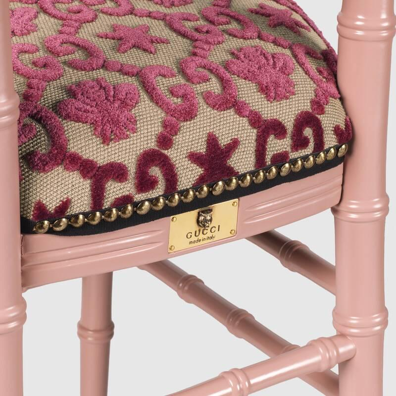 Chiavari chair with GG jacquard (482816ZAW515646)