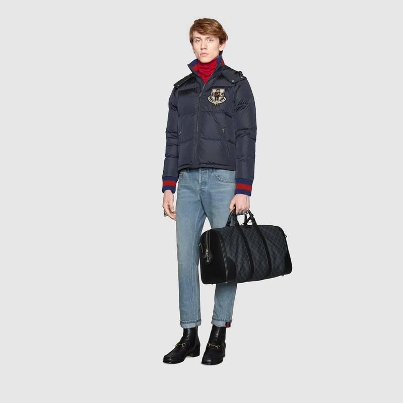 GG Black carry-on duffle (474131K5IAN1095)