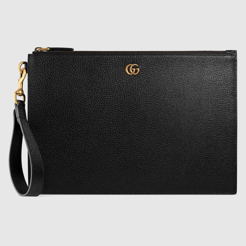 GG Marmont leather pouch (475317DJ20T1000)