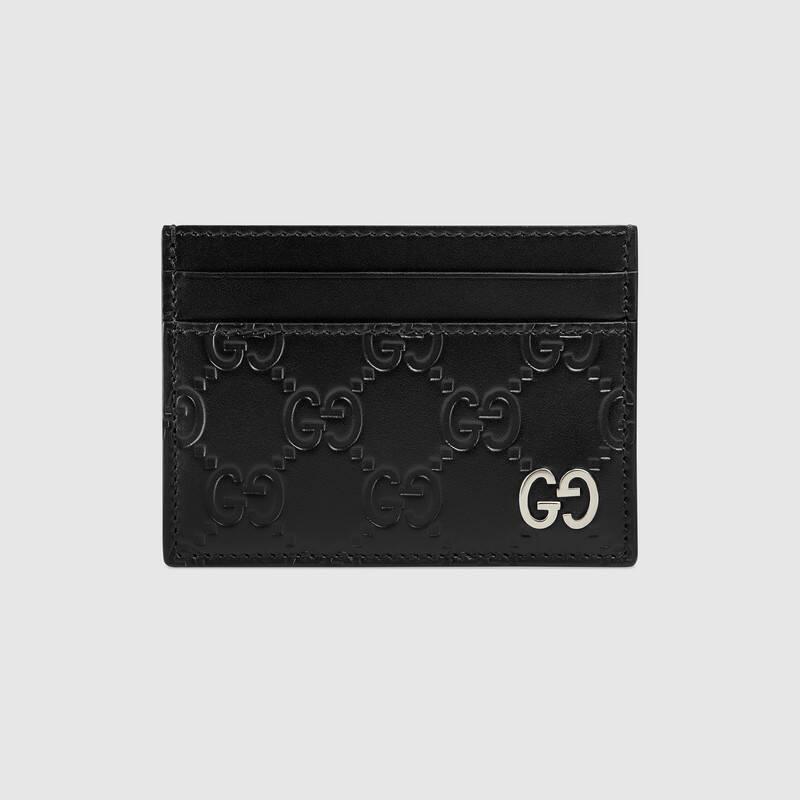 Gucci Signature card case (473927CWC1N1000)