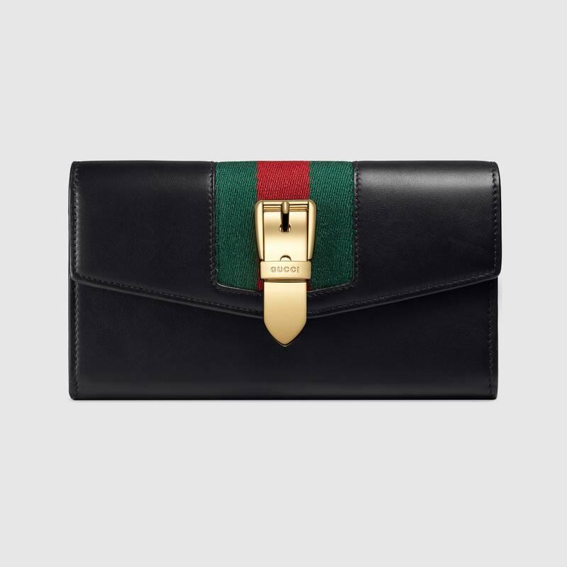Sylvie leather continental wallet (476084CWLSG1060)