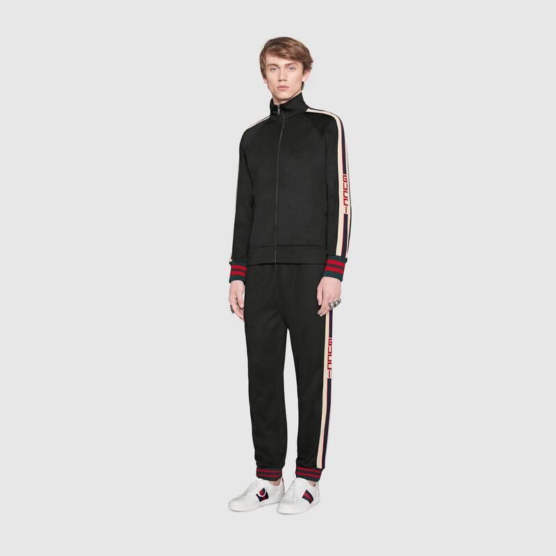 Technical jersey jacket (474634X5T391008)