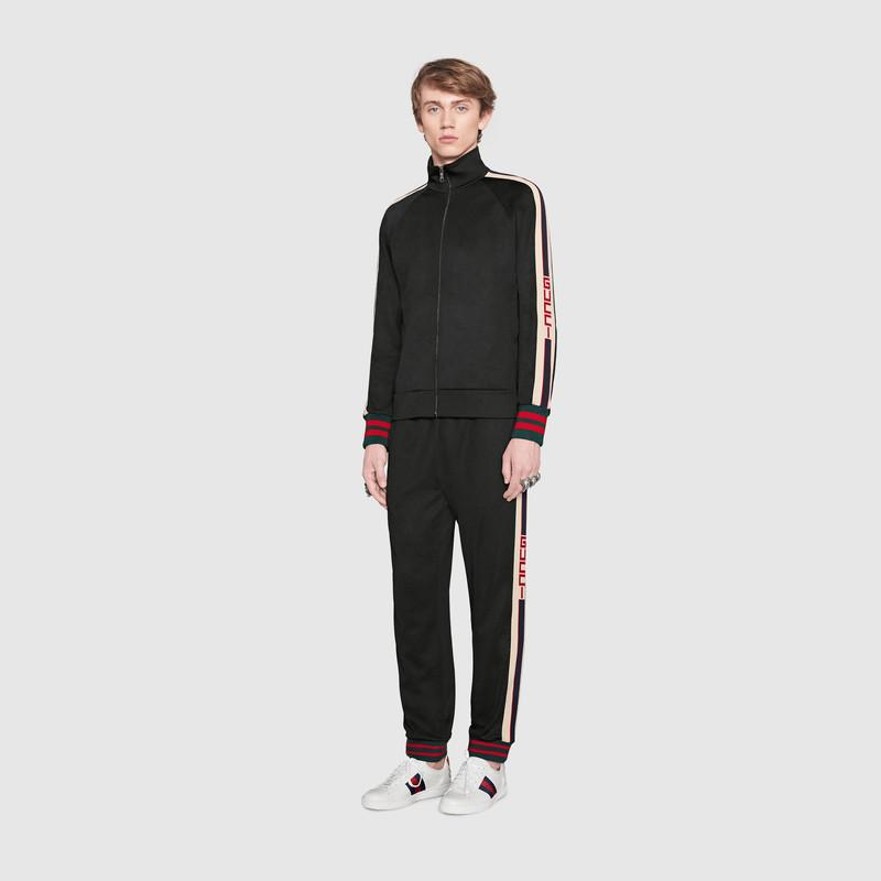 Technical jersey trousers (474635X5T391008)