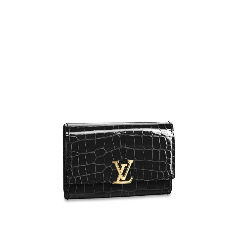 Capucines Compact Wallet (N93059)