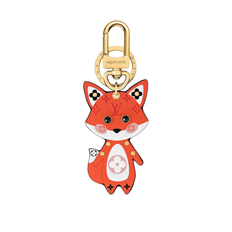 Cute Fox Bag Charm and Key Holder (M69015)