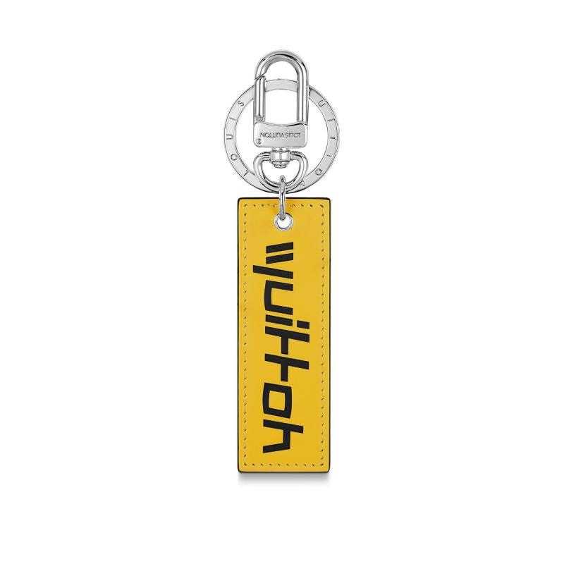 Monogram Logos Tab Bag Charm and Key Holder (M68292)