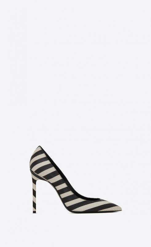 ANJA pumps in striped elaphe (586618L0I009286)