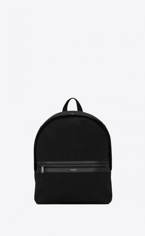 CAMP backpack in canvas and lambskin (6347212GQ2E1000)