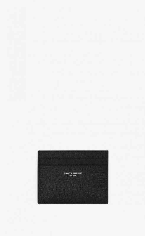 card case in grain de poudre embossed leather (375946BTY0N1000)