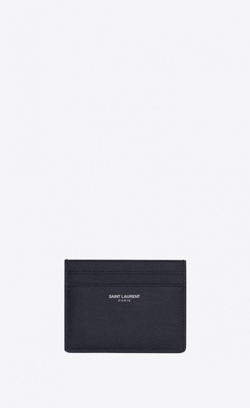 card case in grain de poudre embossed leather (375946BTY0N4150)