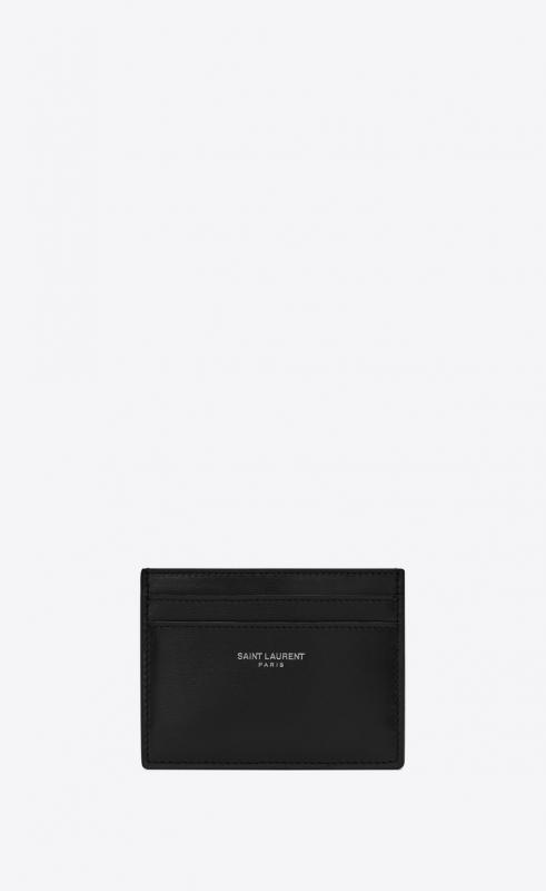 Card holder in smooth leather (3759460U90N1000)