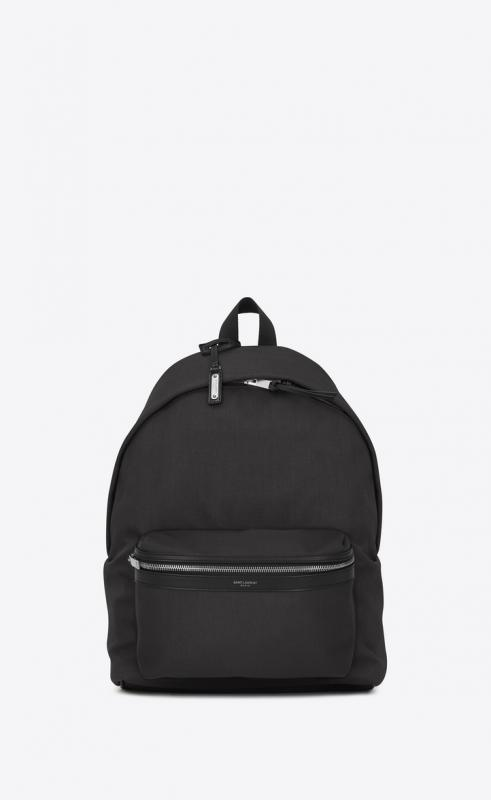 city backpack in nylon canvas and leather (534967GIV3F1167)