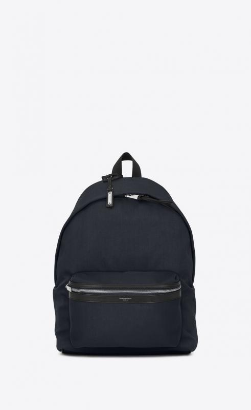 city backpack in nylon canvas and leather (534967GIV3F4160)