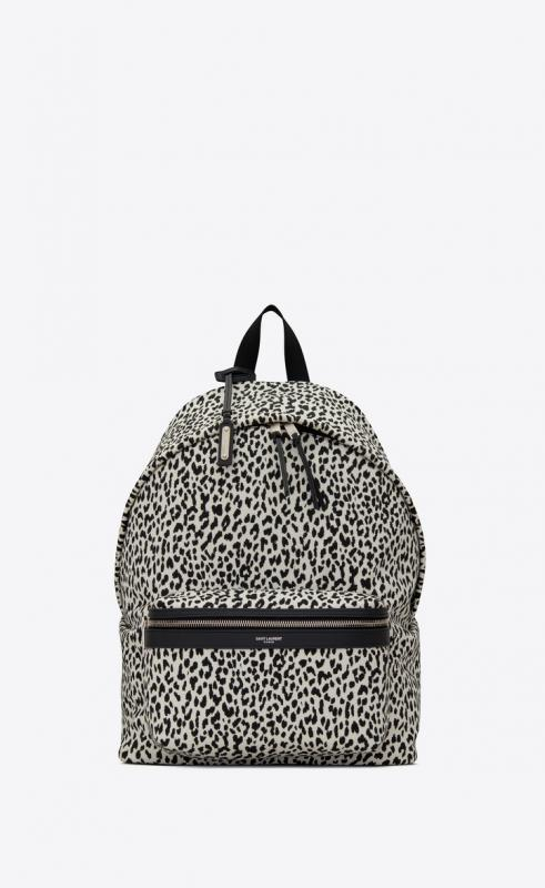 CITY backpack in printed canvas (5349672E81F9084)
