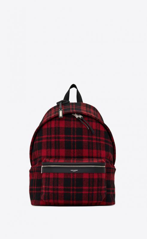 CITY backpack in tartan (534967GKP6F6461)