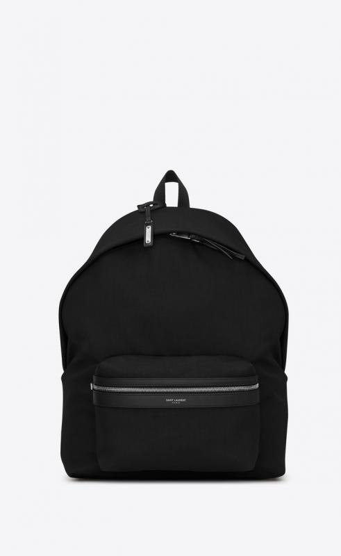 giant city backpack in canvas nylon and leather (534970GIV3F1000)