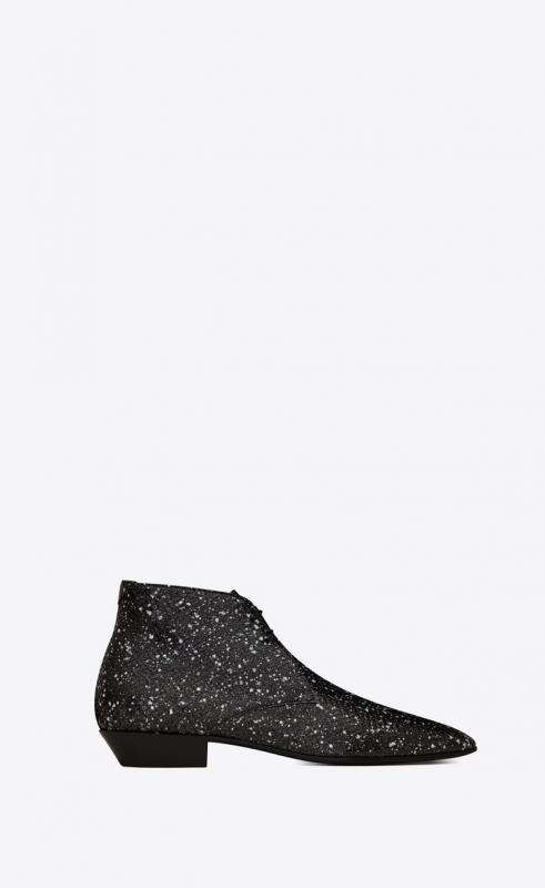 JONAS laced ankle boots in stardust python (579753L0T009122)
