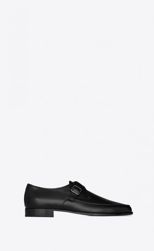 MARCEAU monk strap shoes in smooth leather (632491AKP001000)