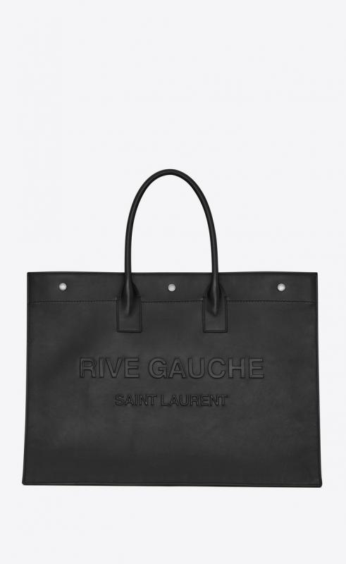 RIVE GAUCHE large tote bag in smooth leather (587273CWTFE1000)