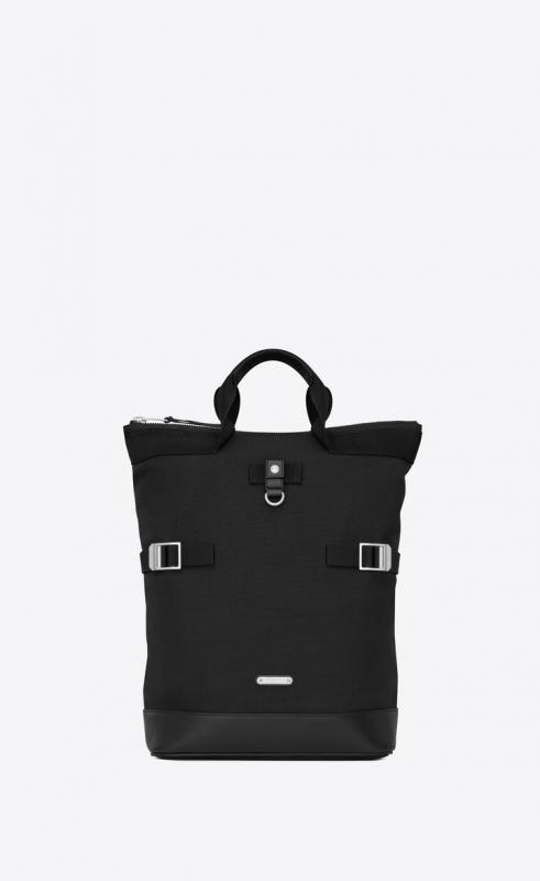 RIVINGTON RACE convertible backpack in canvas (484172GR0MF1000)