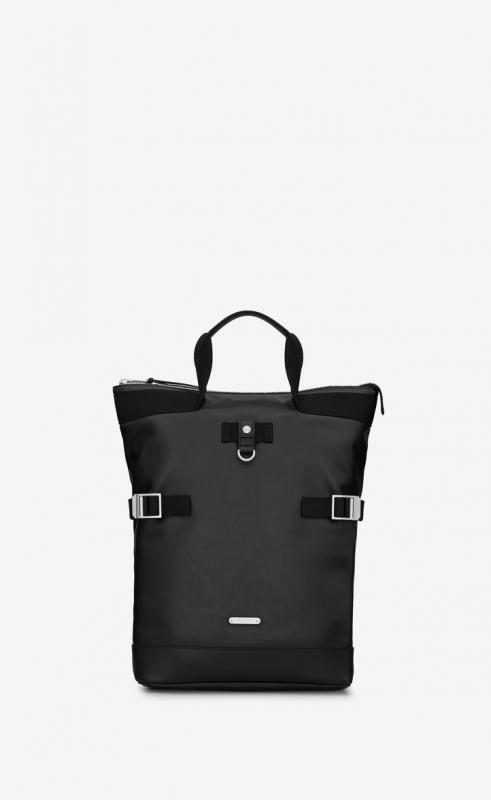 rivington race convertible backpack in leather (4841720AY7F1000)