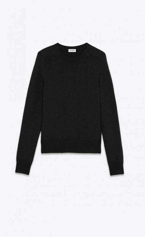 round-neck wool sweater (631859YALK21140)