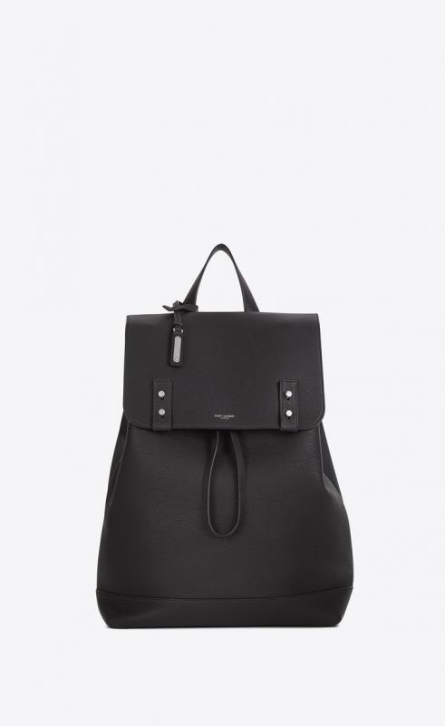 sac de jour backpack in grained leather (480585DTI0E1112)