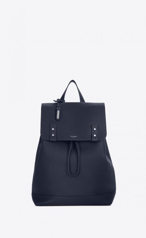 sac de jour backpack in grained leather (480585DTI0E4147)