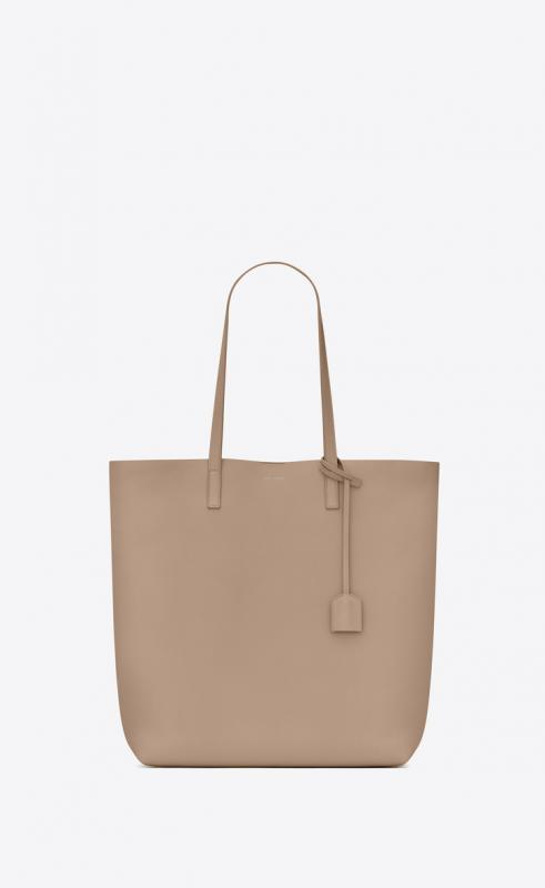 shopping bag saint laurent E/W in supple leather (394195CSV0J1000)