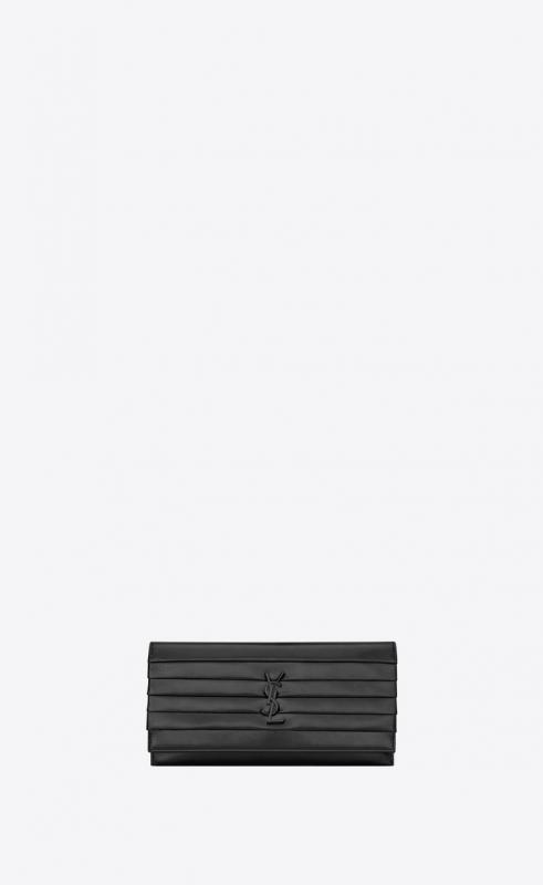 SMOKING clutch in patent leather (5931681LB0U1000)