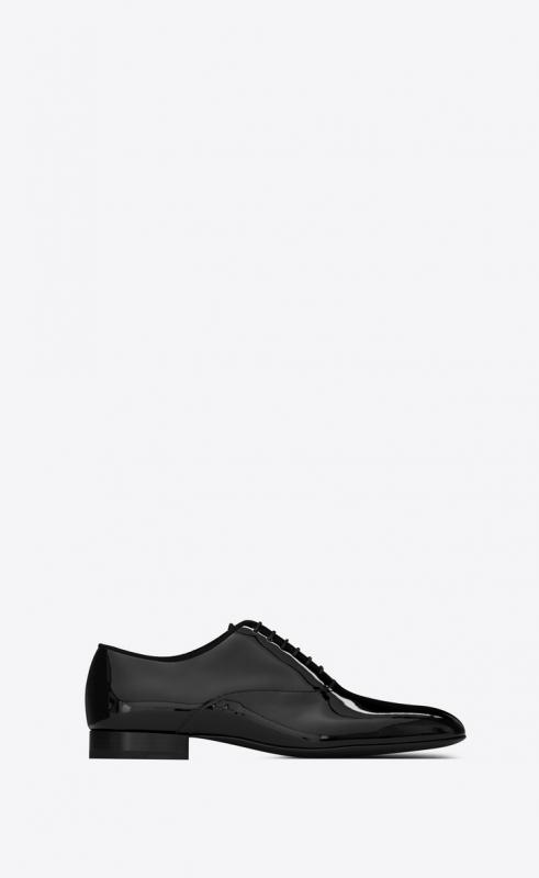 SMOKING Oxford shoes in patent leather (6079310D5001000)